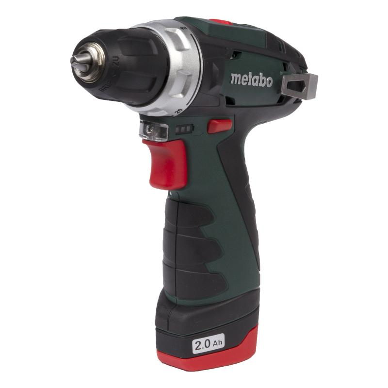 Шуруповерт Metabo PowerMaxx BS, Li-Ion 10,8 В, 2 Ач